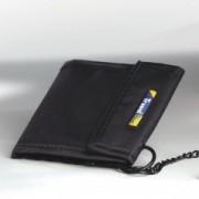 Porte monnaie sécurisé Travel blue