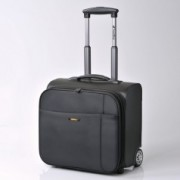 "Valise rigide trolley Travel blue (pour PC 14"")"