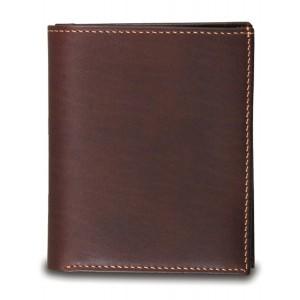 Portefeuille 3 cartes Baron cuir