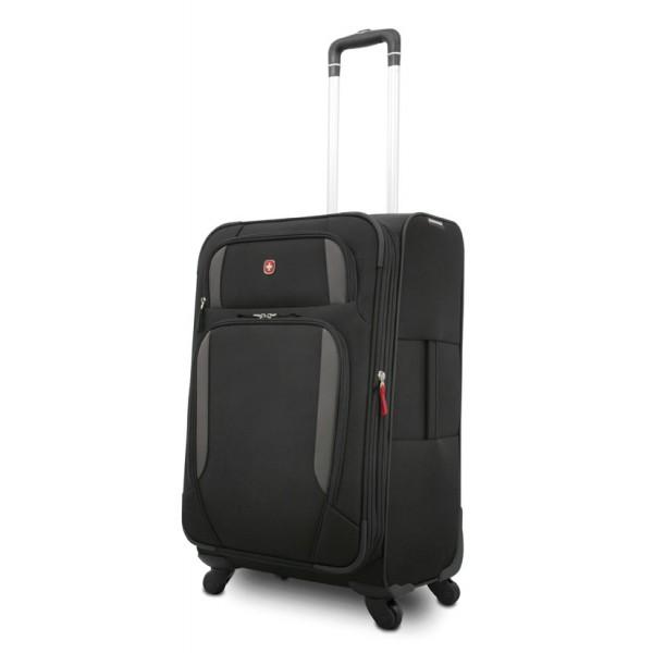 valise roulettes wenger trolley lugano 61 cm we7353. Black Bedroom Furniture Sets. Home Design Ideas