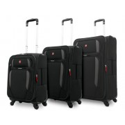 Ensemble 3 valises Wenger Lugano Trolley